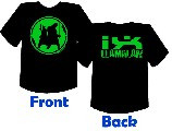 Gallery image - LlamaLAN IX T-Shirt - Green Team