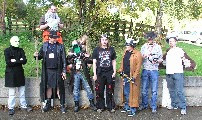 Gallery image - Costumed Group Shot, Ready to Depart