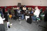 Gallery image - Green Team playing Trackmania